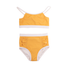 Rock Your Baby Mustard Frill High Waisted Bikini