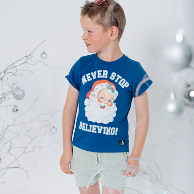 Rock Your Baby Never Stop Believing T-Shirt