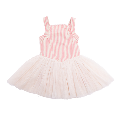 Rock Your Baby Pink Stripe Lou Lou Dress - Annie and Islabean
