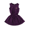 Rock Your Baby Purple Disco Sleeveless Dress
