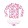 Rock Your Baby Retro Unicorn Rashie Set