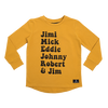 Rock Your Baby Rock Heroes Long Sleeve T-Shirt - Annie and Islabean