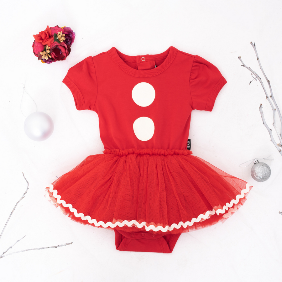 Rock Your Baby Santa Baby Circus Dress - Baby