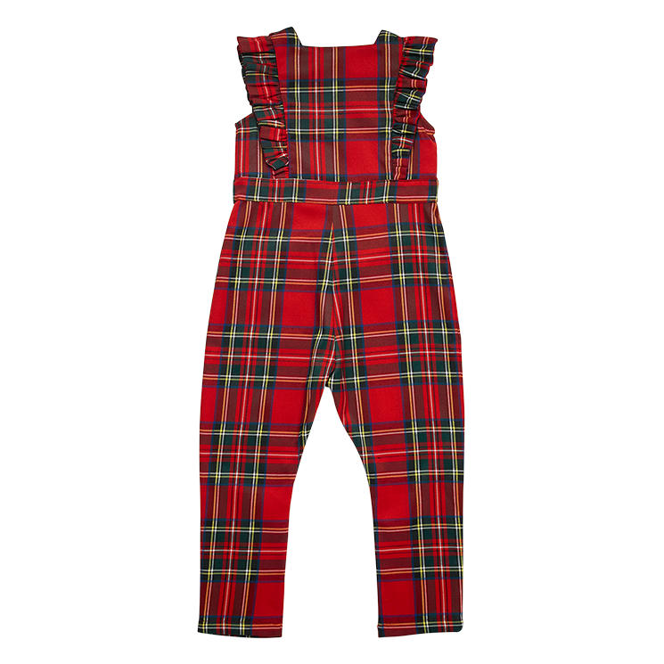 Rock Your Baby Tartan Sleeveless Jumpsuit - Annie and Islabean