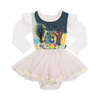 Rock Your Baby Snow White And Friends Long Sleeve Circus Dress