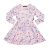 Rock Your Baby Swans Waisted Dress - Annie and Islabean