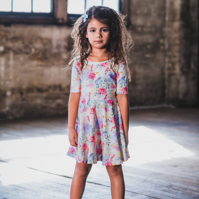 Rock Your Baby Unicorn Dreams Mabel Dress - Annie and Islabean