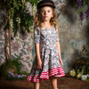 Rock Your Baby Unicorn Love Waisted Frill Dress - Annie and Islabean