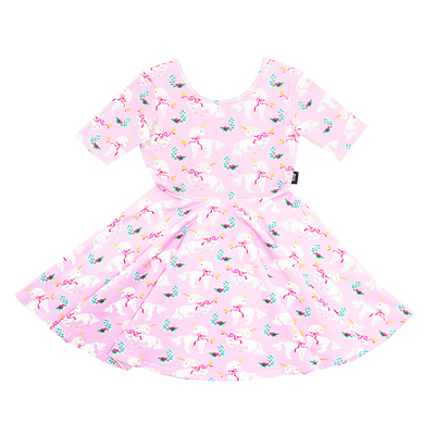 Rock Your Baby Unicorn Ribbons Mabel Dress