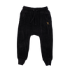 Rock Your Baby Velvet Track Pants - Black