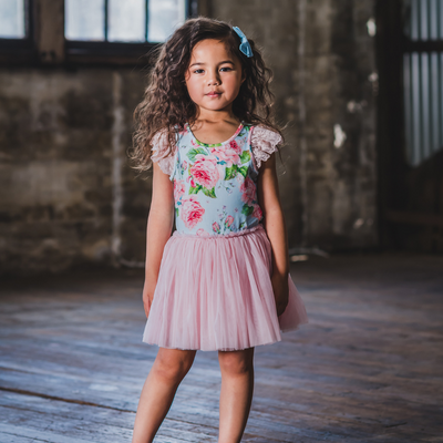 Rock Your Baby Vintage Girl Lace Circus Dress