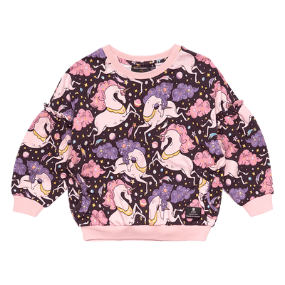 Rock Your Baby Cosmic Unicorn Sweatshirt - Annie and Islabean