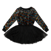 Rock Your Baby Sequin Long Sleeve Circus Dress - Annie and Islabean