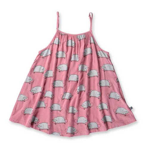 Pre-order Minti Skate Bunnies Swing Dress