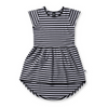 Littlehorn Standard Stripe Dome Dress, Littlehorn - Annie and Islabean