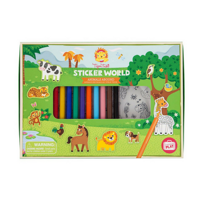 Sticker World - Animals Abound