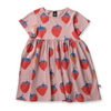 Littlehorn Strawberries Dress, Littlehorn - Annie and Islabean