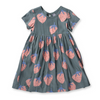 Littlehorn Strawberries Woven Dress, Littlehorn - Annie and Islabean