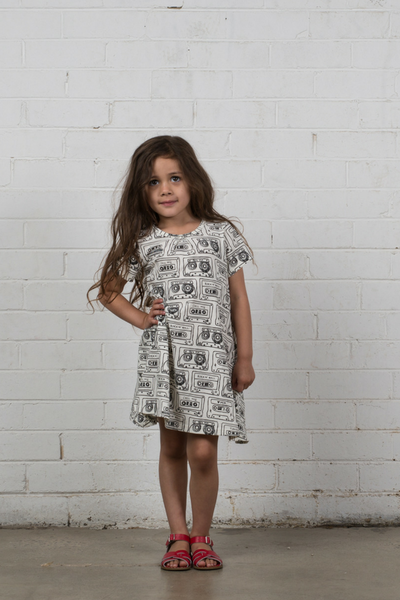 Hootkid Summer Swing Dress - Casette - Annie and Islabean