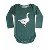 Forest Goose Long Sleeve Bodysuit, Sunday the Label - Annie and Islabean