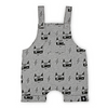 KaPow Kids Super Fox Overalls - Grey Marle - Annie and Islabean