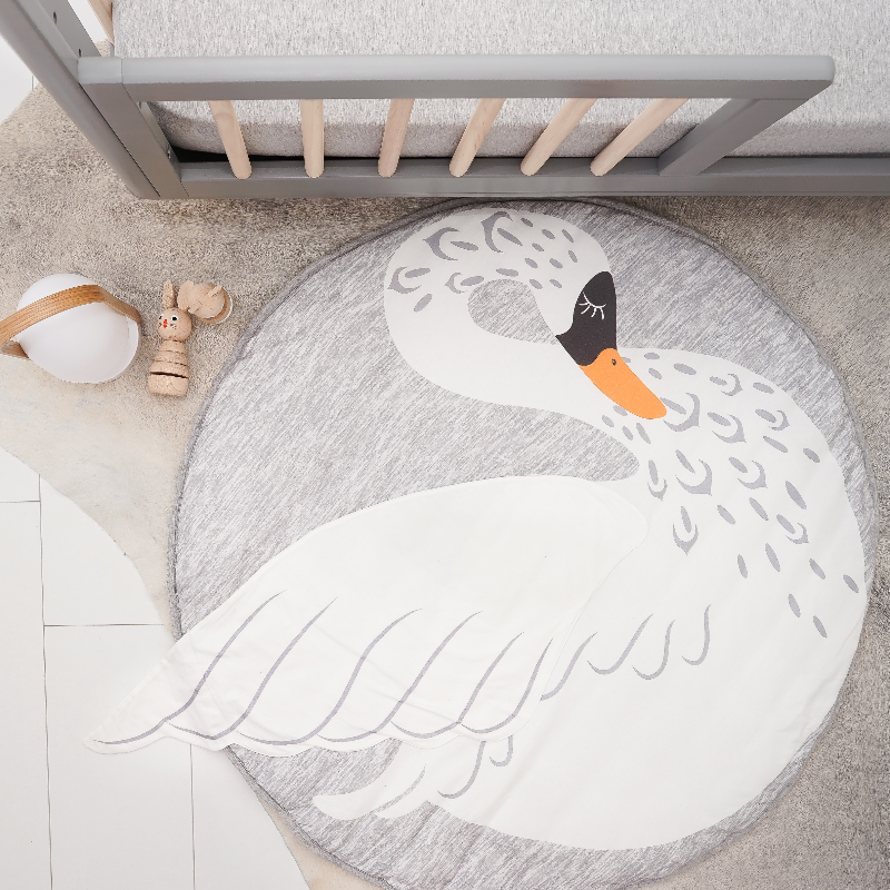Mister Fly Swan Playmat - Annie and Islabean