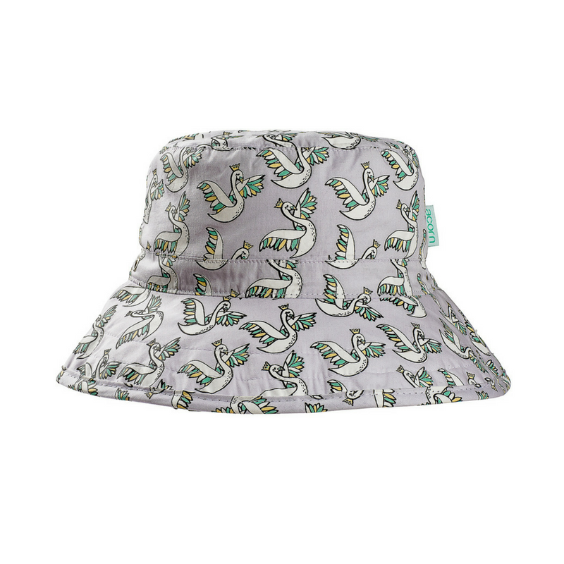 Acorn Swans Bucket Hat - Annie and Islabean