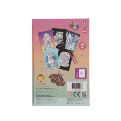Tiger Tribe Glitter Colouring Set - Night Garden - Annie and Islabean