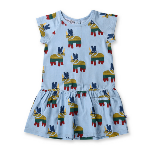 Pre-order Minti Unicorn Pinata Denim Dress
