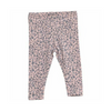 Floral Baby Girl Leggings, WHEAT - Annie and Islabean