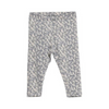 Grey Bird Baby Girl Leggings, WHEAT - Annie and Islabean