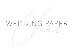 Wedding Paper Chic