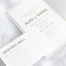 Load image into Gallery viewer, Diana Foil & Embossed Invitations