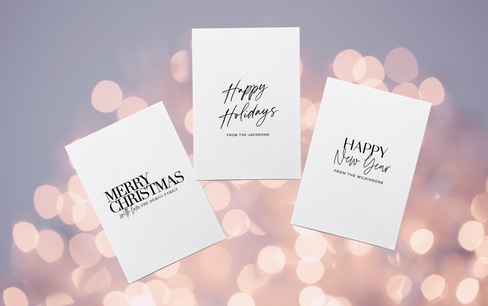 Personalised Christmas Cards - 2020 Collection