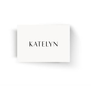 Place Cards - Guest Name Cards