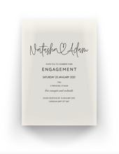 Load image into Gallery viewer, 'Natasha' Engagement Invitation