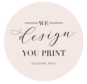 We Design - You Print!