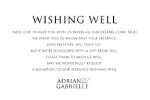 Load image into Gallery viewer, 'Gabrielle' Wedding Invitations