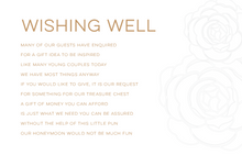 Load image into Gallery viewer, 'Diana' Wedding Invitation Set - includes RSVP & Wishing Well
