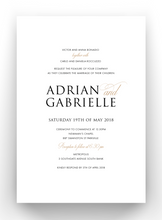 Load image into Gallery viewer, Gabrielle Mirror Invitations