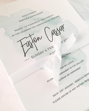 Load image into Gallery viewer, Easton Baby Baptism Invitation
