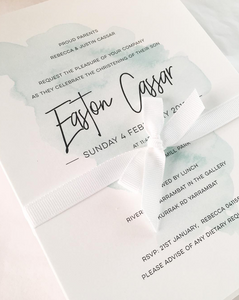 Easton Baby Invitations