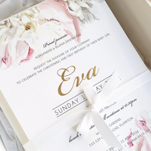 Load image into Gallery viewer, Eva Baby Baptism Invitation