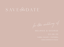 Load image into Gallery viewer, Wedding Date Change Cards - Postponed Wedding Cards