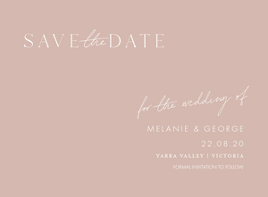 SALE - WEDDING DATE CHANGE CARDS