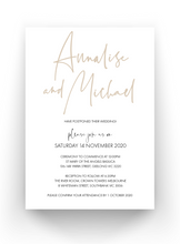 Load image into Gallery viewer, SALE - WEDDING DATE CHANGE CARDS