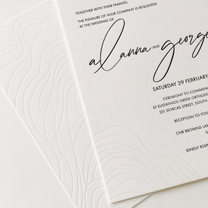 'Alanna' Wedding Invitation