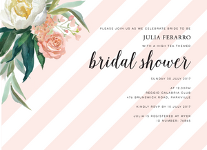 Julia Bridal Shower Invitation