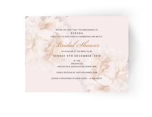 Eleana Bridal Shower Invitation