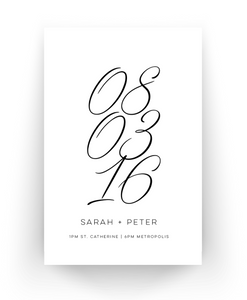 Wedding Poster Print (60x90cm)